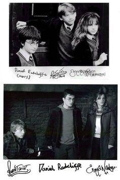 Sus autógrafos