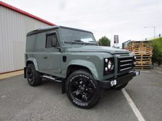 Land Rover Defender 90 2.2 TDCi XS Hard Top OVER LAND Black Edition Commercial Diesel Green