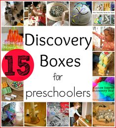 15 Discovery Boxes for Preschoolers