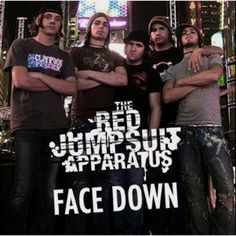 red jumpsuit apparatus - Google Search | music | Pinterest | Red ...