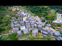 ▶ Fraga da Pena Waterfall - Piódão - Foz de Égua aerial view - 4K Ultra HD