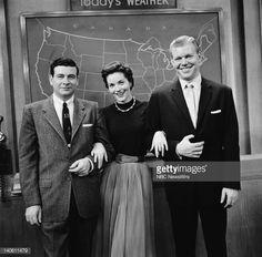 Photo d'actualité : NBC News' Frank Blair, Lee Meriwether, Jack...