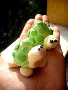 turtles  fimo sculpey polymer clay