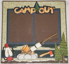 Camp out page