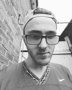Feel like hell today. #selfie #norest #notrad #headisamess #guyswithglasses #guyswithtattoos #nike #jersey #ralphlauren #polo