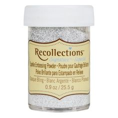 Get the Sparkle Embossing Powder by Recollections™ Signature™ at Michaels.com. Turn a plain paper into a piece of art using the Sparkle Embossing Powder by Recollections™ Signature™.