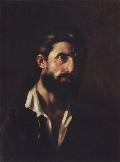 Картина Ге Мужской портрет.