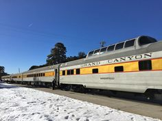 The Train with service from Williams, AZ to The Grand Canyon!