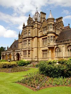 Tyntesfield - Highland Hall, the beautiful English Estate featured in The Governess of Highland Hall, releasing Oct. Beautiful Castles, Beautiful Buildings, Beautiful Homes, Beautiful Places, Victorian Castle, Victorian Homes, Victorian Decor, Victorian Architecture, Beautiful Architecture
