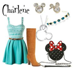 """""""Charlene Kingdom Keepers"""" by childofgod0214 on Polyvore featuring Report, Disney and Jennifer Behr"""