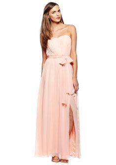 On ideel: DONNA MORGAN Grace Sweetheart Neckline Gown