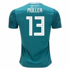 4e08e2d3f 2018 World Cup Jersey Germany Away Muller Replica Green Shirt 2018 World  Cup Jersey Germany Away Muller Replica Green Shirt | Wholesale Customized  [BFC869] ...