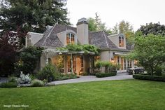 French Country House Exteriors | French Country Style Home- Extreme Remodel 9316