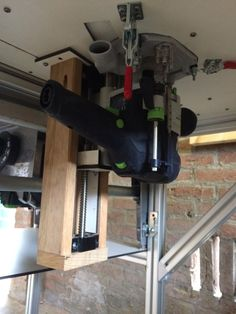 Festool of 1400 delrin m8 lead screw and anti backlash nut for a 1 diy saw router table with cs70 incra miter and incra ls greentooth Images