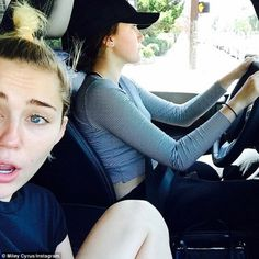 Noah Cyrus takes sister Miley out for a spin despite needing a... #NoahCyrus: Noah Cyrus takes sister Miley out for a spin… #NoahCyrus