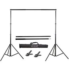 Slow Dolphin Photo Video Studio Adjustable Backdrop Support System Light Stands with Background Holder Kit * Read more at the image link. Umbrella Photography, Photography Backdrop Stand, Background For Photography, Burgundy Curtains, Pink Curtains, Halloween Camera, Backdrop Holder, Dolphin Photos, Portable Stage