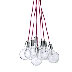 Ampoules suspension bois lampe pinterest - Lampe suspension ampoule ...