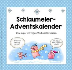 Ideenreise - Blog | Schlaumeier-Adventskalender Primary Education, Elementary Education, Primary School, Christmas Crafts For Adults, New Years Eve Party, Blog Tips, Simple Christmas, Classroom Management, Innovation