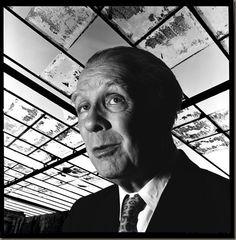 Pedro Meyer, Jorge Luis Borges, Mexico 1973