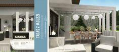 Projekt tarasu z jacuzzi - projekt indywidualny Green Design Jacuzzi, Landscape Architecture, Bathroom Lighting, Spa, Mirror, Outdoor Decor, Green, Design, Furniture