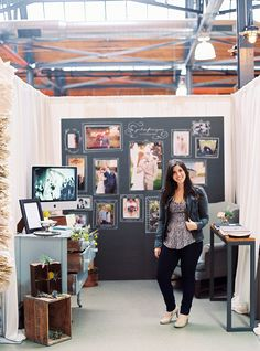 If I were to have a booth at a bridal show.