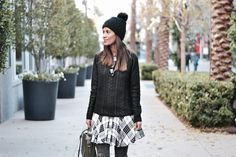 Layering up in a jump and pom beanie from marshalls  Diverse City Style- Fall layers, winter layers