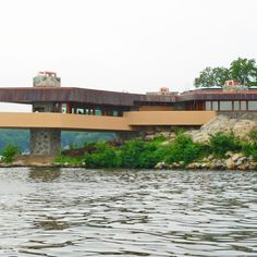 Massaro House, Lake Mahopac, New York Wright drew up plans for this island residence in 1949, but the property was left unbuilt until Joseph Massaro discovered and constructed the architect's design in 2002.