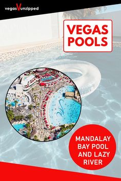 Discover the best pools in Las Vegas for From lazy rivers, to wave pools, to normal resort hotel pools, have fun relaxing in the sun in Vegas now! Best Pools In Vegas, Vegas Pools, Las Vegas Tips, Las Vegas Vacation, Pool Landscaping, Backyard Pools, Indoor Pools, Las Vegas Restaurants, Las Vegas Hotels