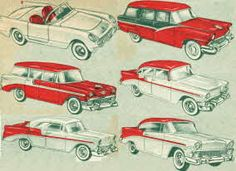 Tru-Miniatures 1956 Model Cars From The 1950s