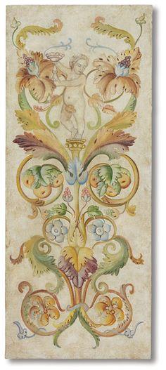Мариани Affreschi, Catalogo, Fregi, grottesche электронной decorativi - Каталог, гротеск и декоративные картины   Мариани Affreschi