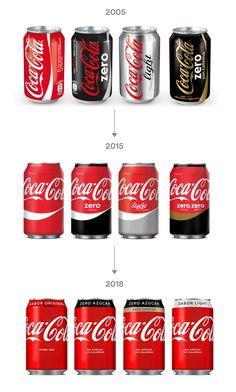 España unifica aún más todas sus Coca-Colas con un diseño aún más rojo   Brandemia_