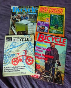 Cycling Mags (FOUR) including Readers DigestCYCLE MAINTENANCE