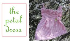 Petal Dress Free Pattern Tutorial - Peek-a-Boo Pages - Sew Something Special