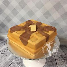 Waffle Cake Tutorial