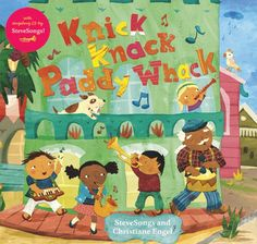 Knick Knack Paddy Whack - count from one to ten, learn about different musical instruments, and I love the diversity in this singalong book!