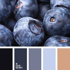 коричневый, оттенки синего, оттенки синего цвета, палитры для дизайнера, почти черный цвет, рыже-коричневый, светло-синий, синий цвет, темно-синий, темно-синий цвет, цвет ягод голубики, цвета голубики, цвета черники, цветовое решение для дизайнеров.