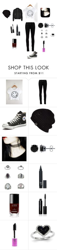 """""""Smells like the only Nirvana song you know"""" by ashleearmani ❤ liked on Polyvore featuring Yves Saint Laurent, Converse, UGG Australia, BERRICLE, Topshop, Chanel, Bobbi Brown Cosmetics, Lime Crime, Kevin Jewelers and women's clothing"""