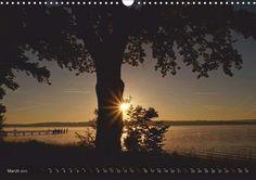 Crepuscular Rays - CALVENDO calendar by Flori0 - http://www.calvendo.co.uk/galerie/crepuscular-rays/ - #trees #nature #light #photography #crepuscular