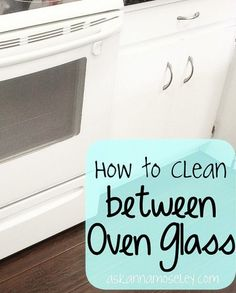 Click here to learn how to clean between oven glasses to make your appliance look brand new again.