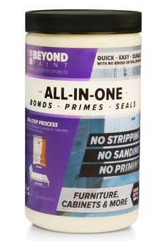 Beyond Paint Furniture, Cabinets and More All-in-one Refinishing Paint Gallon, No Stripping, Sanding or Priming Needed, Bright White Beyond Paint, Container Size, Paint Furniture, Furniture Refinishing, Antique Furniture, Painting Kitchen Cabinets, Glass Blocks, Acrylic Colors, Nantucket