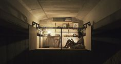 Fernando Abellanas, studio under a bridge, hidden studio in Valencia, moveable tiny studio, DIY workspace in Spain