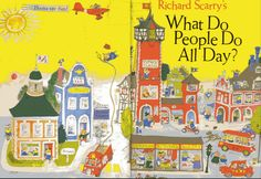 """""""What Do People Do All Day?""""  1968"""