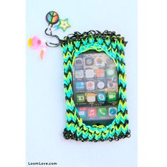 Loom band iPhone case :: 32 Amazing but Weird Loom Band Creations