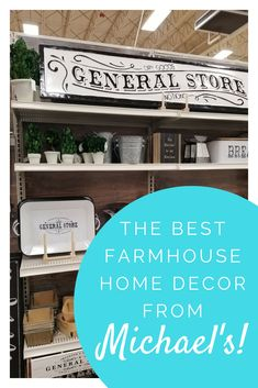 Get details on all the best Farmhouse Living Room Decor at Michael's! Farmhouse Family Rooms, Farmhouse Bedroom Decor, Farmhouse Style Kitchen, Modern Farmhouse Decor, Farmhouse Homes, Kitchen Redo, Farmhouse Kitchens, Farmhouse Signs, Kitchen Remodel