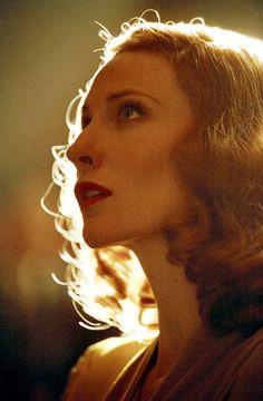 Cate Blanchett as Katharine Hepburn in The Aviator
