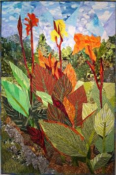 Cannas of the Field: Ann Harwell.  Beautiful.  Maybe someday I will feel creative enough to tackle an art quilt