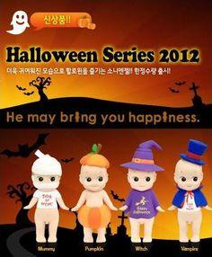 Shop | Category: Halloween & Autumn | Product: Sonny Angel Mini Figure - Halloween 2012