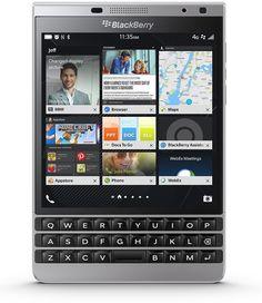 New Blackberry Passport Silver Edition Factory Unlocked GSM Qwerty 32GB 4G LTE