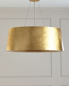Shop Halo Medium Hanging Shade from Barbara Barry at Horchow, where you'll find new lower shipping on hundreds of home furnishings and gifts. Dining Room Lighting, Visual Comfort Lighting, Interior Lighting, Light Fixtures, Hanging, Pendant Light, Light, Visual Comfort, Dining Room Light Fixtures