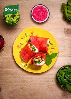 Knorr Groentewraps, lekker wat meer groente!